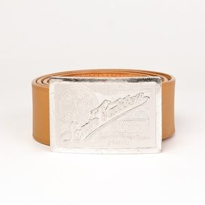 TRAVELLING REQUISITES TAN BELT (SIZE 80/32)